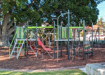 George Street Park play equipment